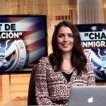 Raissa Morris on Univision
