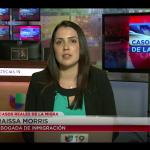 Abogada Raissa Morris responde preguntas de televidentes